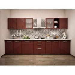 straight modular kitchen SVIMEMH