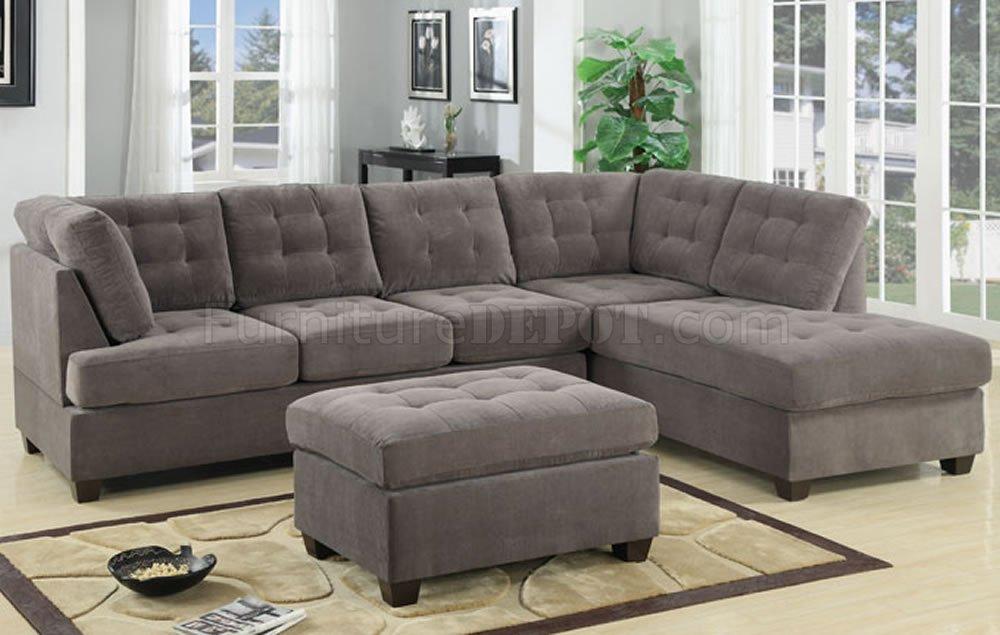 breathtaking gray microfibre sofa made from fabric sofa made from microfibre Mikrosuede EBKEVEM
