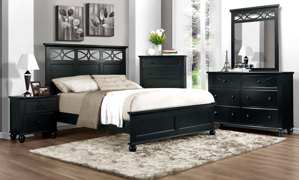 stylish black bedroom furniture gives bedrooms a touch of black undertone TRSXJMV