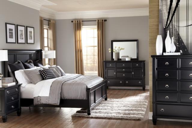 stylish black bedroom furniture sets king gray bedroom black furniture google BENYKBR