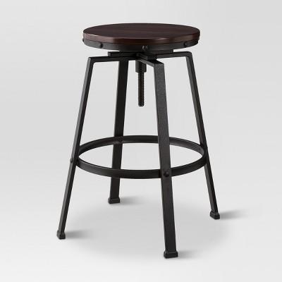swivel bar stool lewiston adjustable swivel bar stool bronze - threshold ™ WWCJDHL