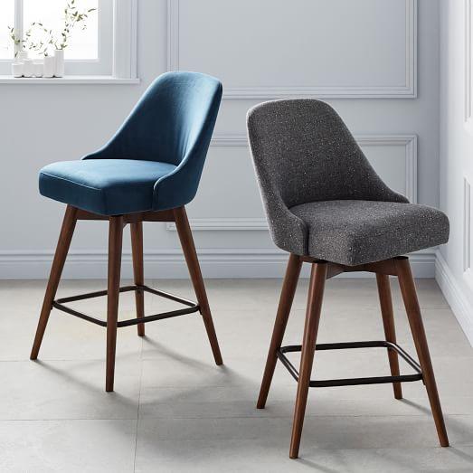 swivel bar stool, upholstered, upholstered bar stool + bar stool ONCVBVJ
