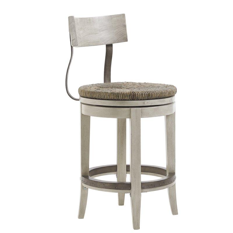 swivel bar stool Oyster Bay 24 VNAKQHD