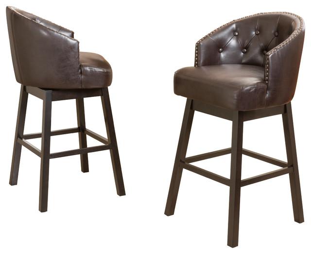rotating bar stool Westman bar stool, set of 2 OTBDWLM