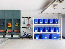 Deal with garage organization on a weekend ESRLDVM