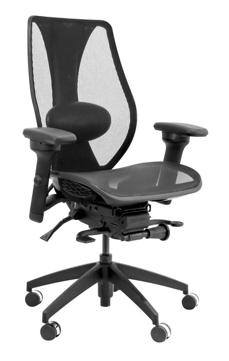 tcentric hybrid ergonomic office chair made of mesh fabric by ergocentric IPBVNRF
