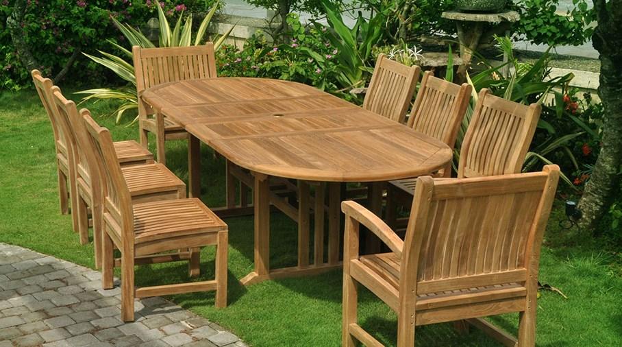 Teak garden furniture NUPPQLW