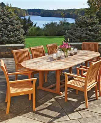Garden furniture made of teak ... or in the garden in the warmer months becomes the second CGVHQKC