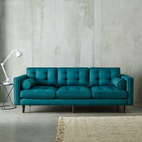 blue-green sofa i love Freedomu0027s Copenhagen sofa ... ** increases the credit card limit ** QYPEYUM