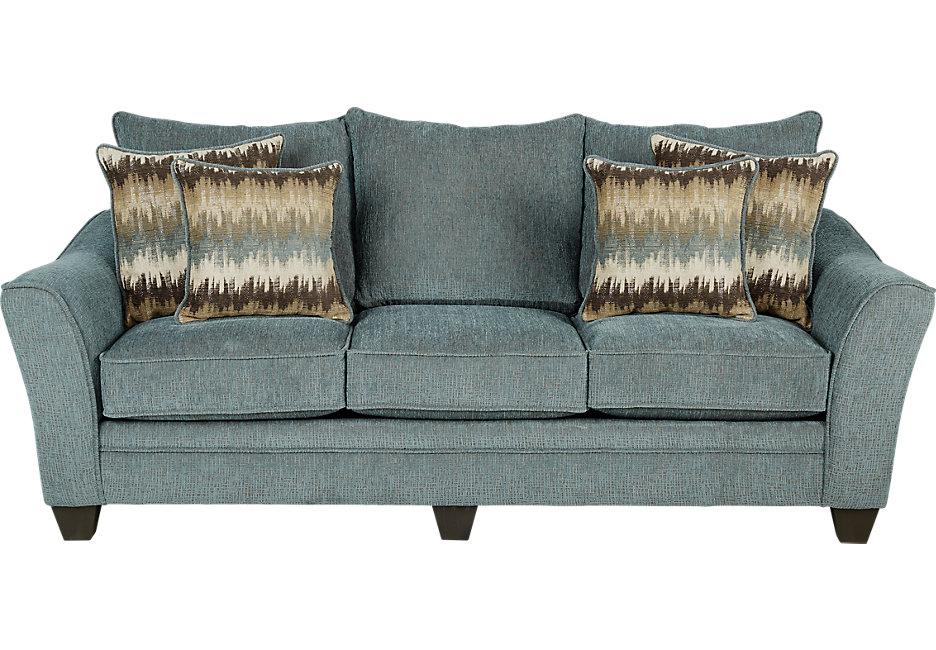 teal sofa Madeley Teal Sleeper - sofa beds (blue) JRQBWCN