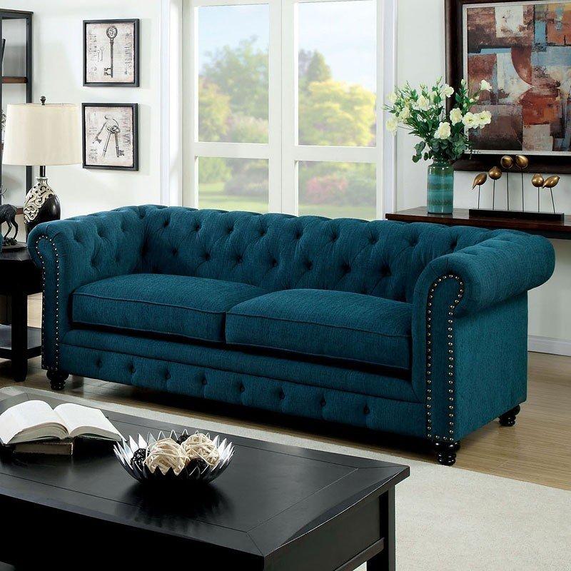 blue-green sofa stanford sofa (dark blue-green) ATDDBYK