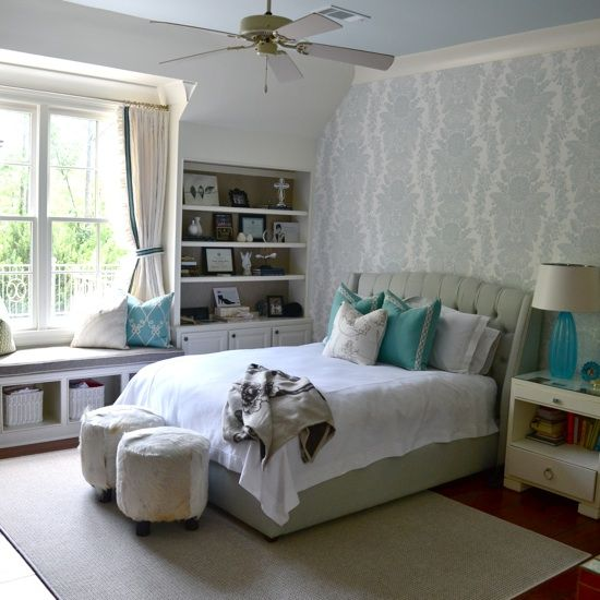 Teenage Girl's Bedroom Designer: Lisa Palmer, via: alwayssummer.comu0026nbsp;  BFTZXIL