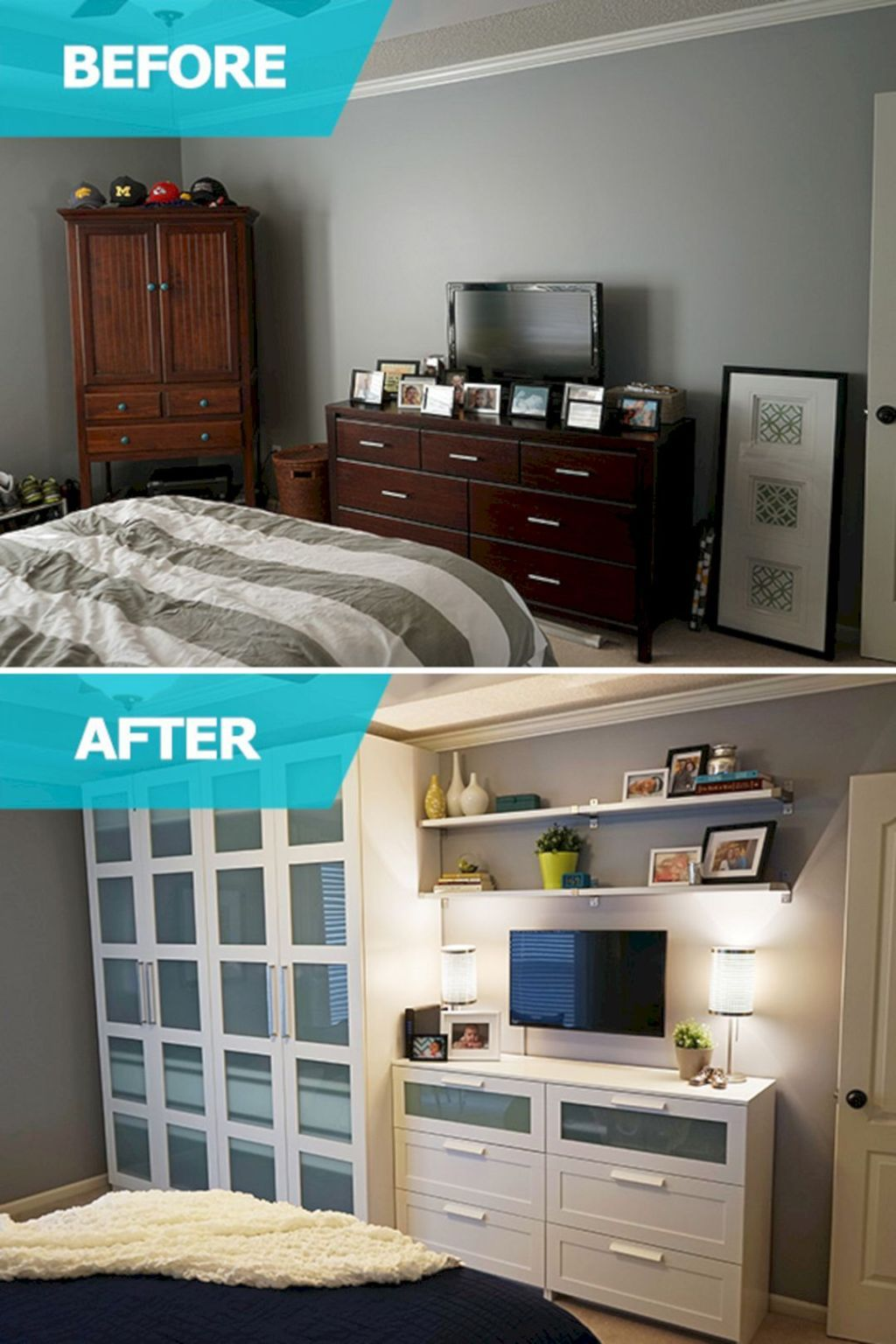 the best ideas for storage in the bedroom for small spaces No. 80 QCJNBDK