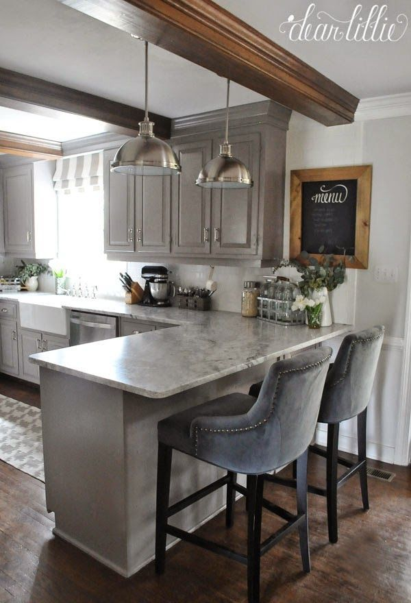 the finishing touches to our kitchen makeover (before and after) by the lovely FSORDHR