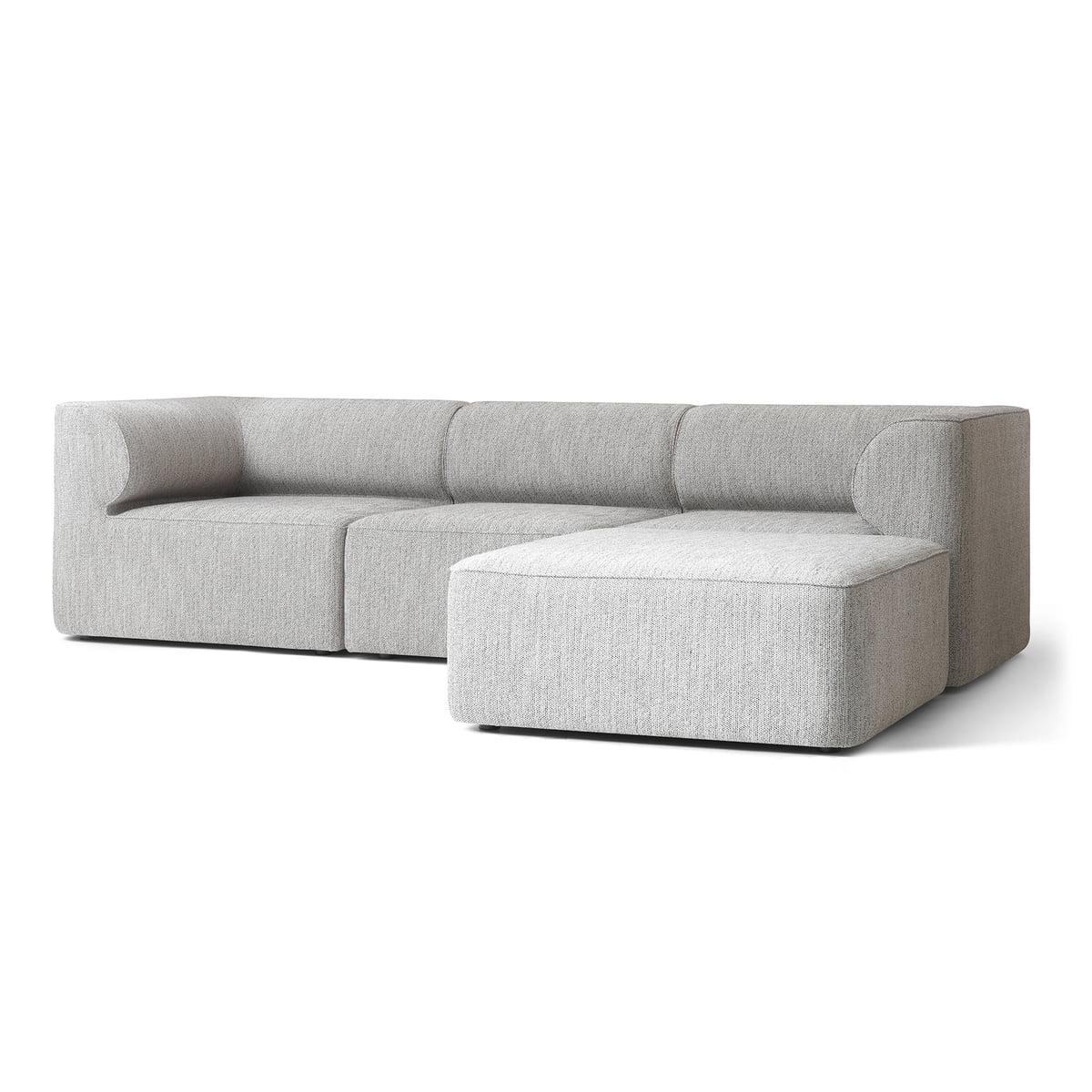 the menu - Eaves modular sofa in light gray LHFASEI