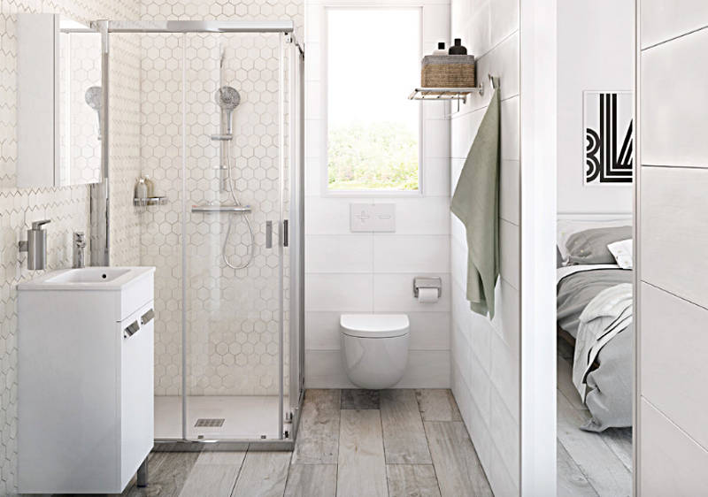 it's a minor revolution in bathroom design and you are going to love this rule breaking BPDSYQN
