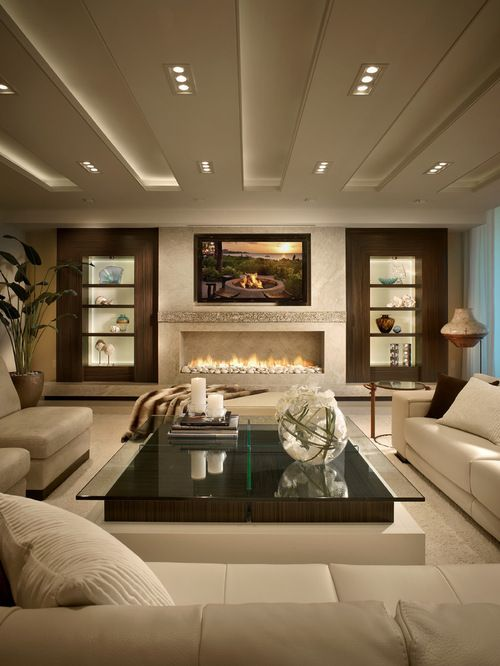 These 21 contemporary living room ideas were inspired by the famous interior MRWCMZM.  designed