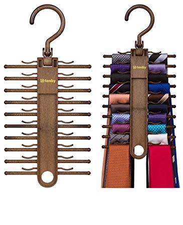 Tie holder 2-pack Tenby Living tie holder, organizer, hanger, holder - cheap tie QEZKXMK