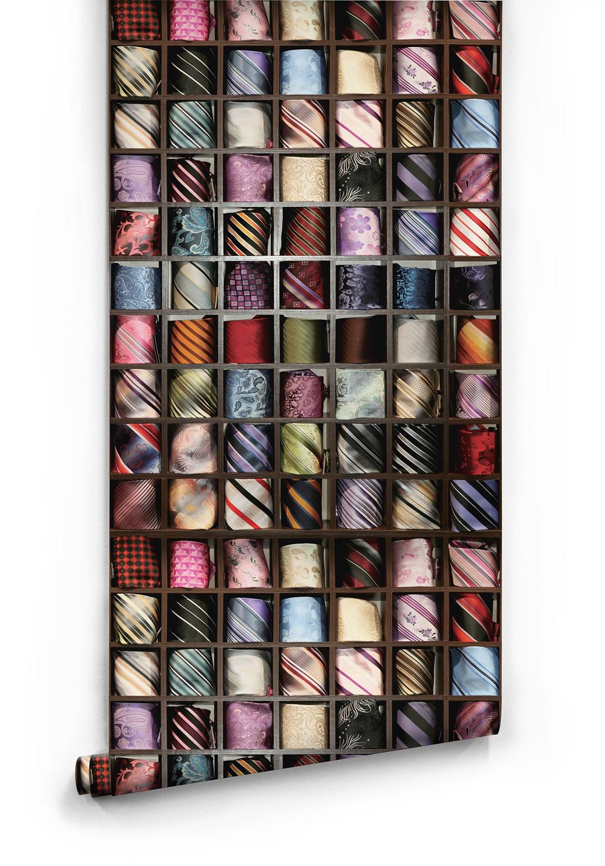 Tie holder wallpaper roll ZYIKHHR