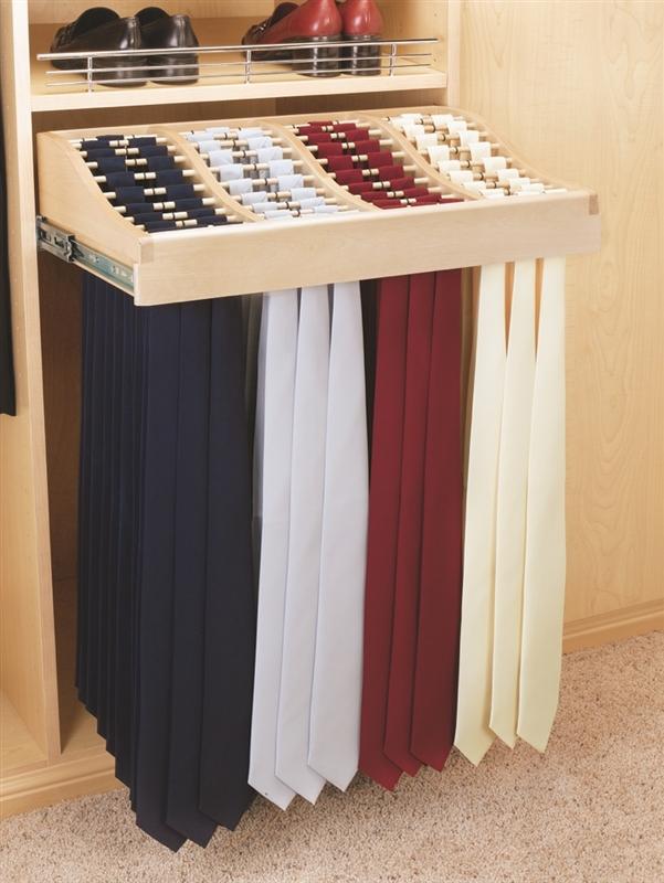 Tie holder wood classic 24 KXUPKNK