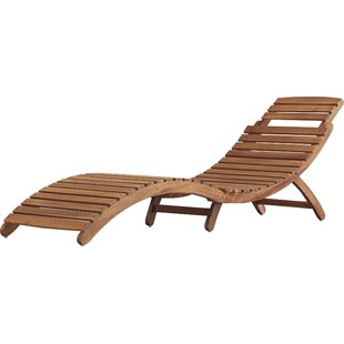tifany wooden outdoor chaise longue HOLHVXR