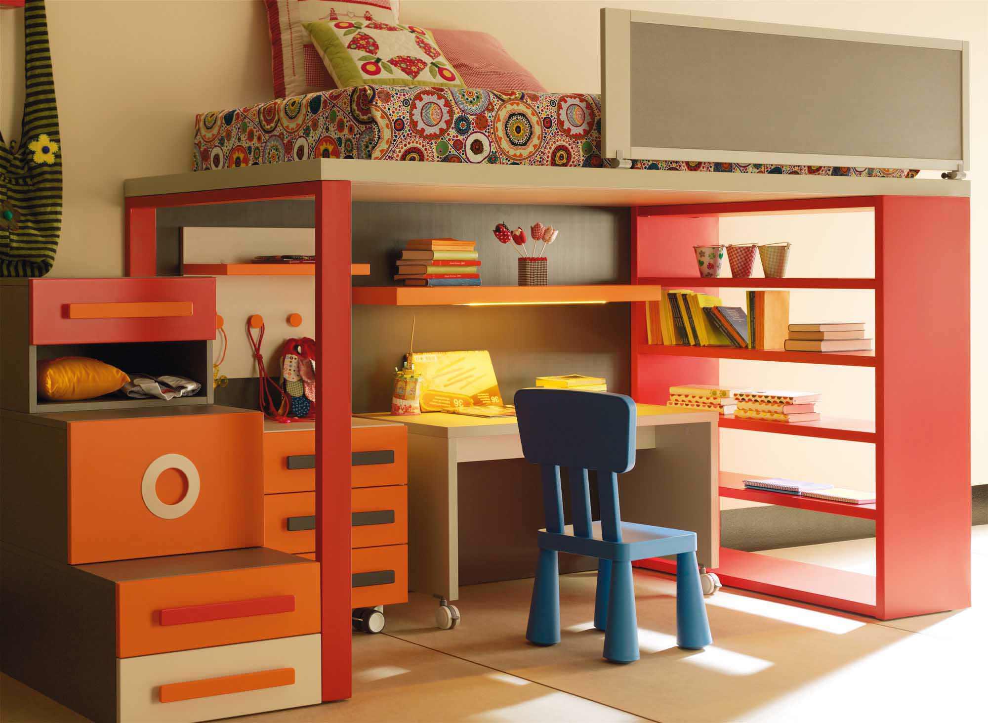 Toddler boys' room furniture Children's room storage furniture Children's room furniture JWGSFKW