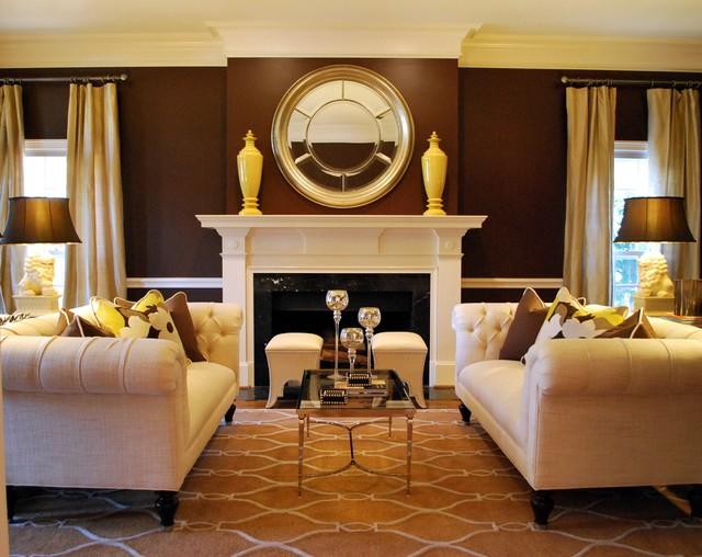 Transitional Formal Living Room Traditional Living Room FHVRRTX