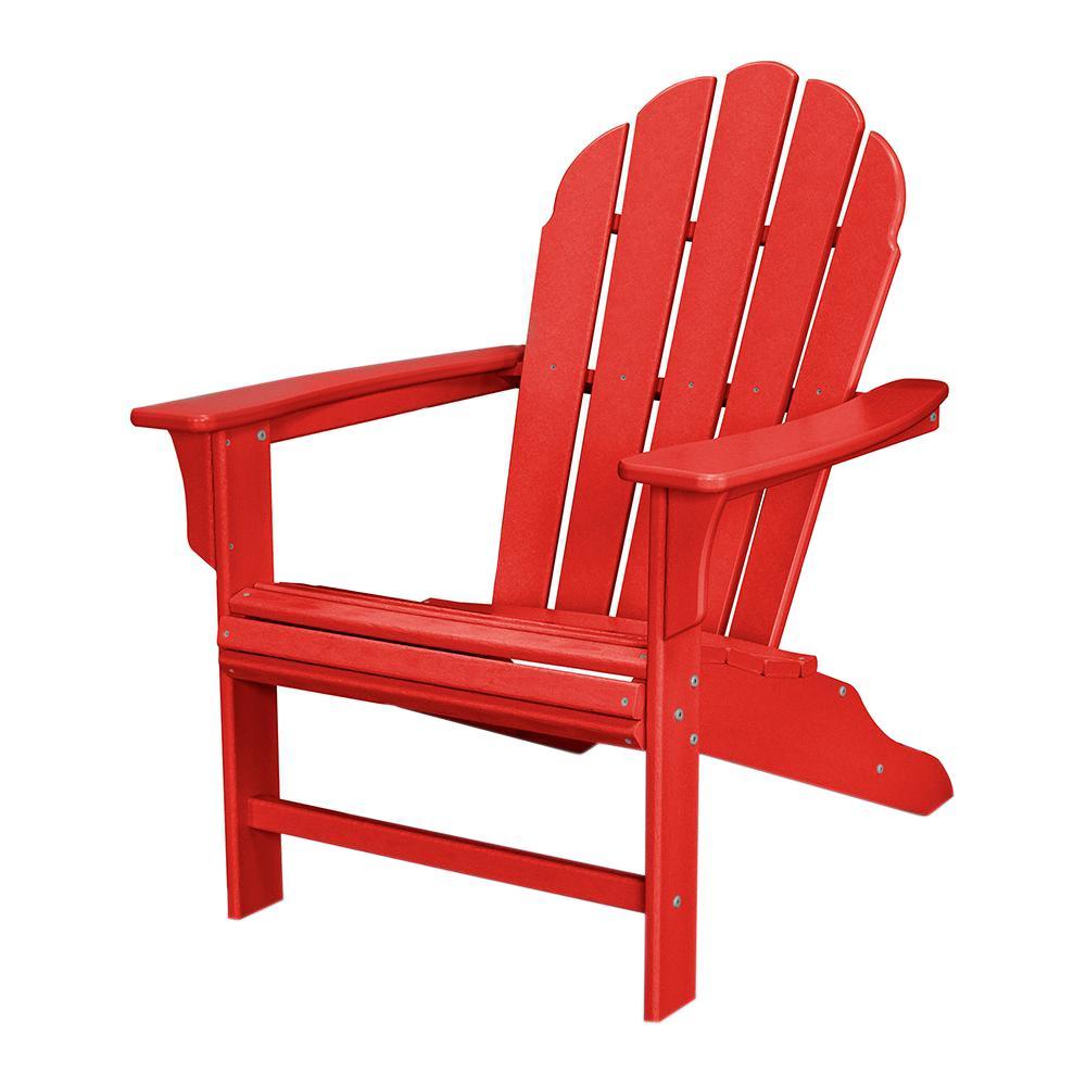 Trex outdoor furniture HD sunset red terrace Adirondack chair WDTMDNB