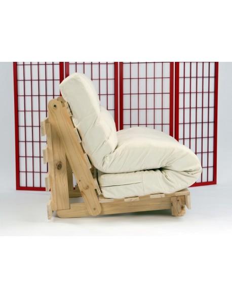 Tri-fold futon mattress fits on two sofa beds AZPBKCF