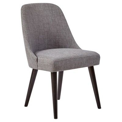 upholstered dining room chairs American retrospective upholstered dining room chair (set of 2) - gray - jofran VRZXBFU