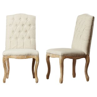 upholstered dining chairs Bernadine upholstered dining chairs (set of 2) KYUYPGA