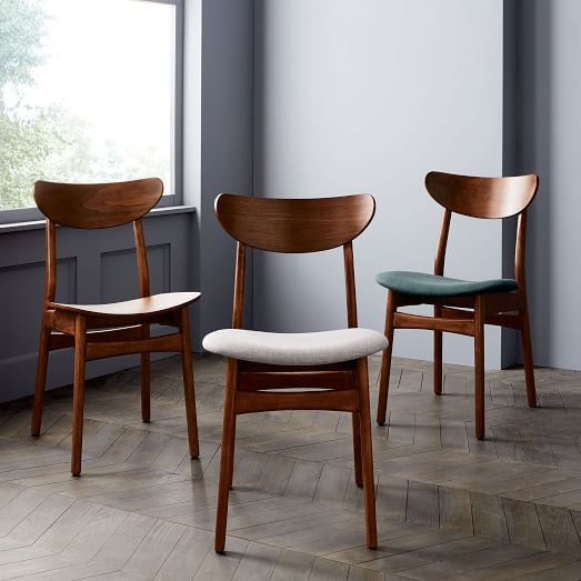 upholstered dining chairs classic café upholstered dining chair BWBEOGZ