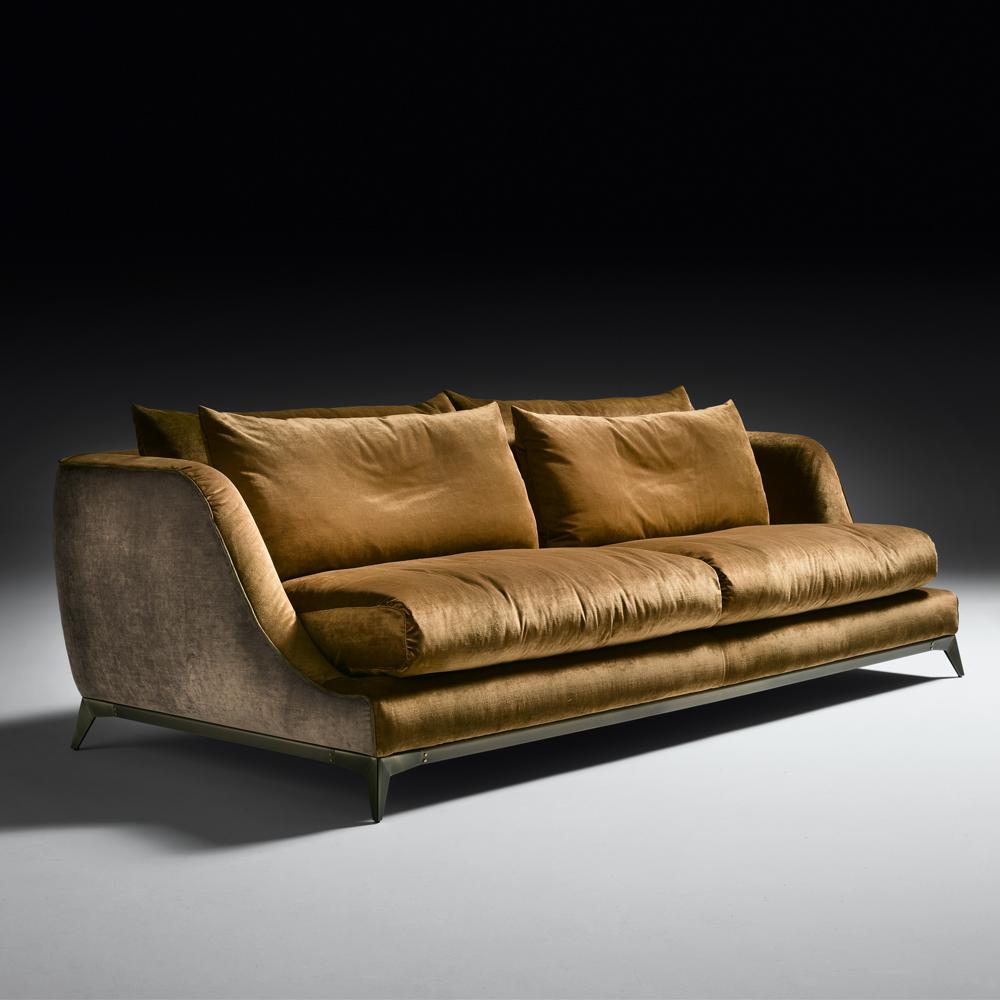 Velvet sofas modern designer velvet sofa TAKENRW