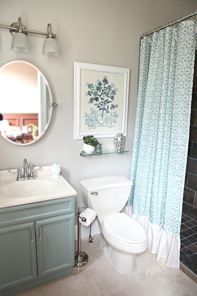 very small bathroom improvements OQYZZCA