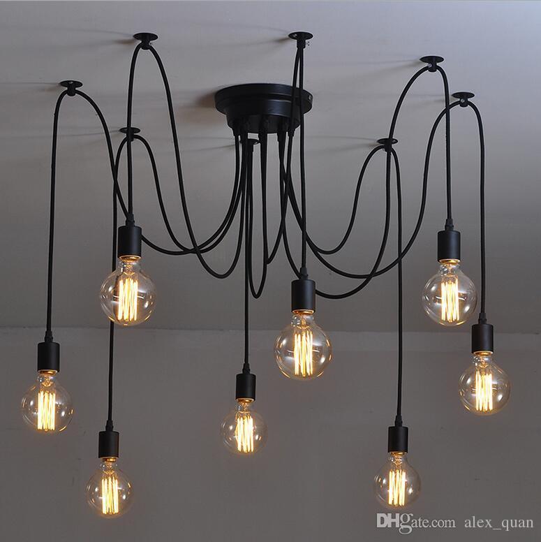 Vintage Pendant Lights rh Loft Retro Edison Bulbs Pendant Lights Creative YVTSTSA