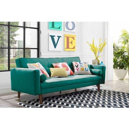Vintage sofa in teal VLKXHLS
