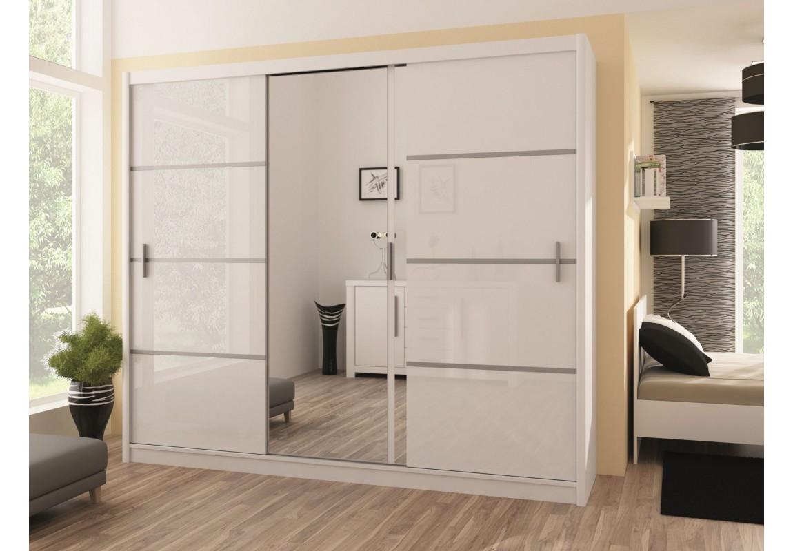 Vista 250 white wardrobe DQGHNGZ