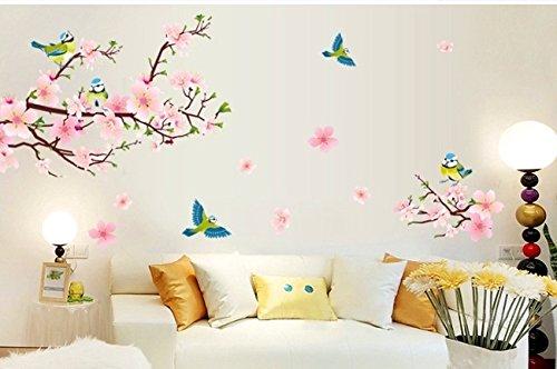 Wall decals for children amazon.com: children's room wall decals, children's room flower wall decals XL, flower wall PBXJETL