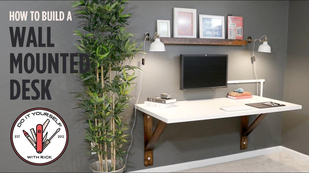 Wall desk Build a wall desk UHPLUKZK