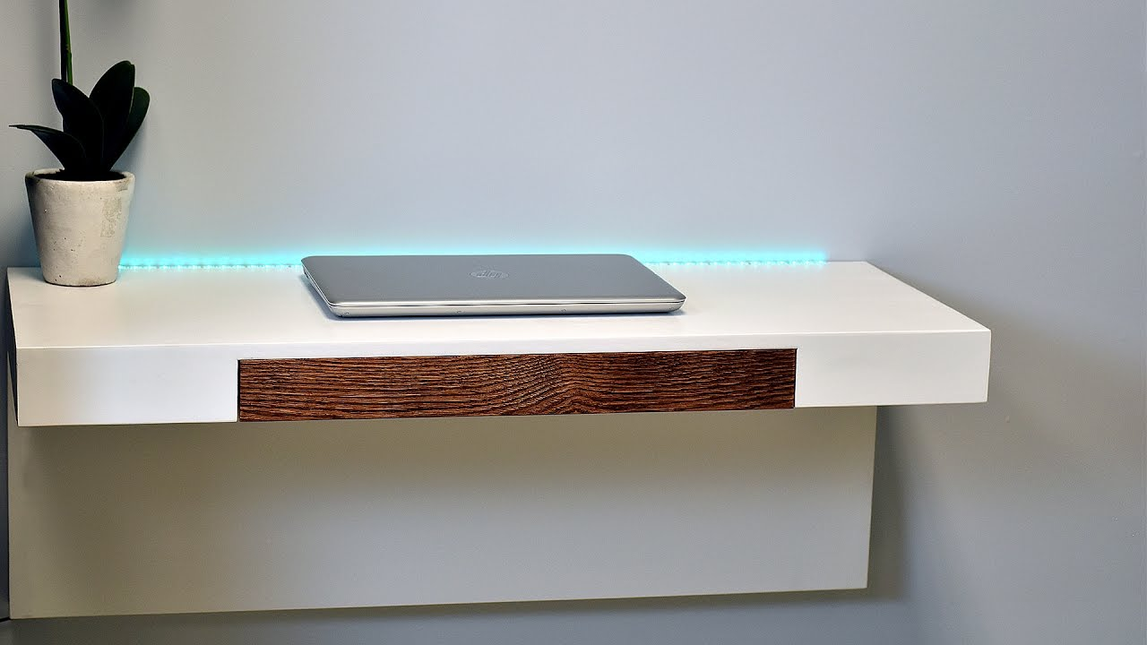 Wall desk How to make a wall desk with secret compartments (plans available) PGRRXVI