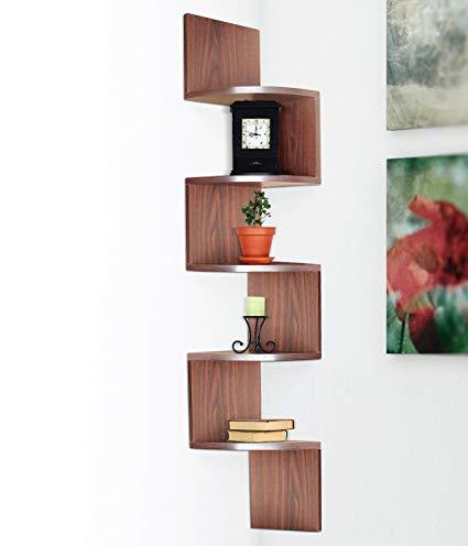 wall-mounted corner shelf halter large corner shelf - wall-mounted corner shelves (5 floors) SBAALVK