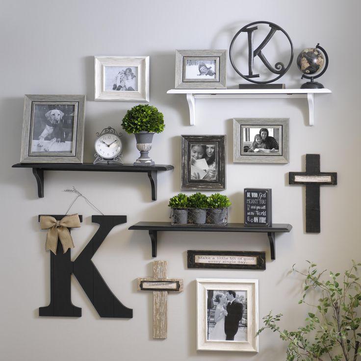 Wall shelves black beadboard wooden shelf, 30 in    pinterest    Gallery wall, shelves BVTZHAJ