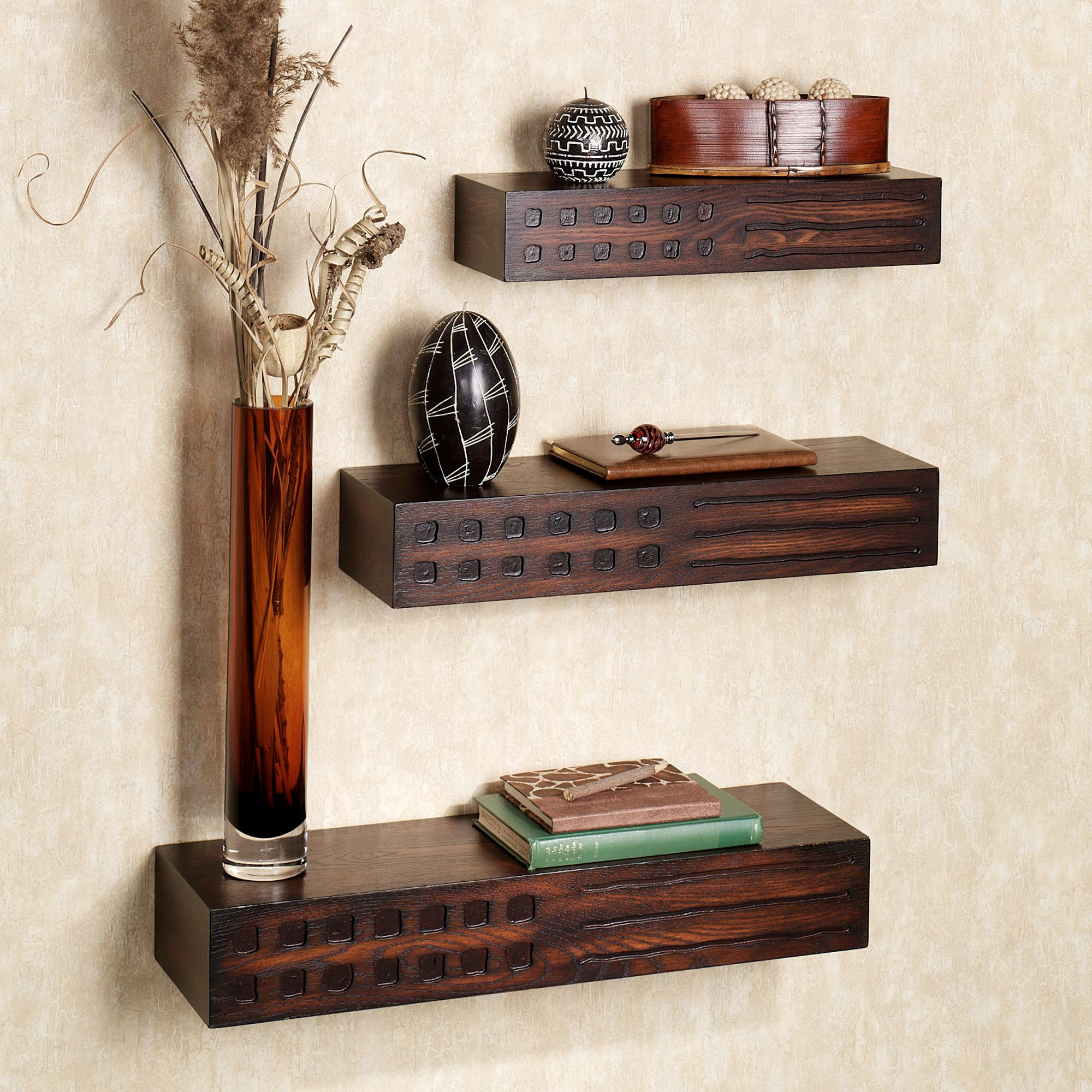 To enlarge wall shelves, touch EEAGJUI