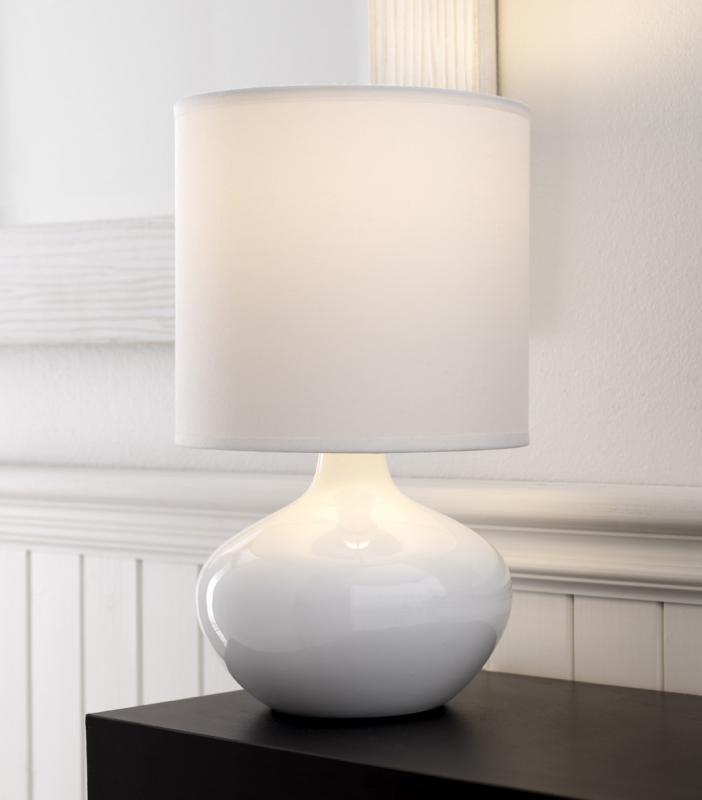 white bedroom lamps LAKOBQU