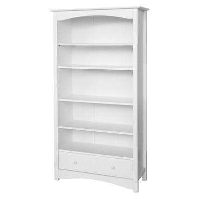 white bookcase davinci mdb bookcase - white: target UOPETMM