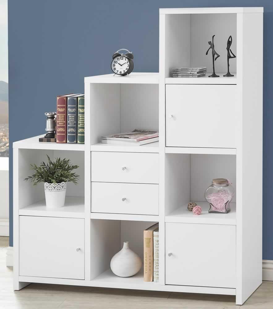 white bookcase KYAEGOR