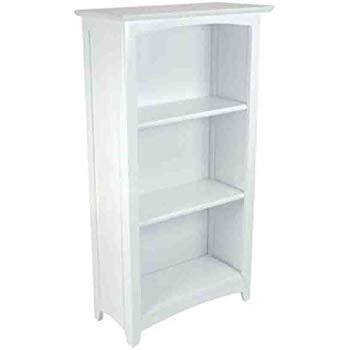 white bookcase Kidkraft Avalon tall bookcase - white STGHPYU