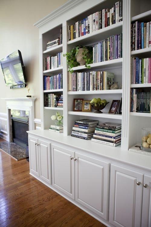 white bookcase with doors RTSQXPQ