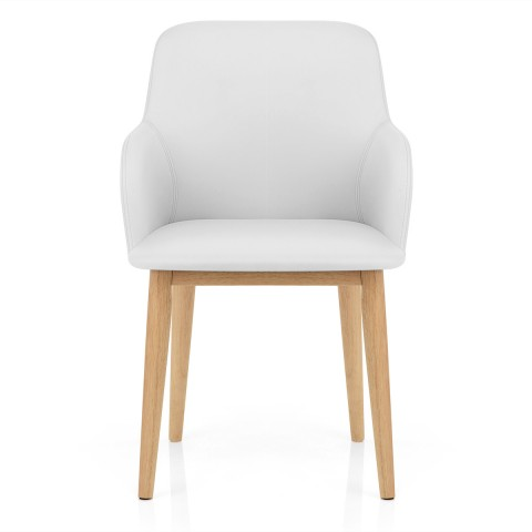 white dining room chairs Albany dining room chair white ... THRNZHM