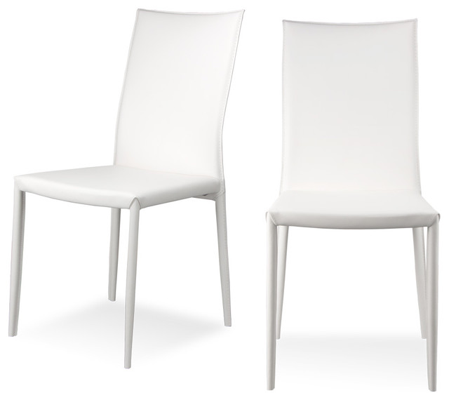 white dining chairs modern white leather dining chairs bing images modern inside idea 5 VUUROAF
